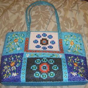 Handbags - EMBROIDER HANDMADE PURSE